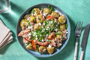 Salade de grenailles au thon et aux câpres image