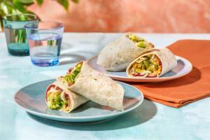 Pastrami-Wrap mit Käse & Salat image