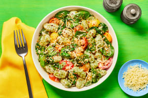 Spinach Gnocchi with Heirloom Tomatoes image