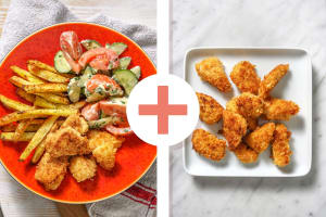 Dubbele portie zelfgemaakte kipnuggets image