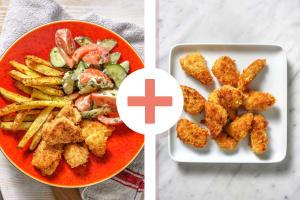 Double portion de nuggets de poulet maison image
