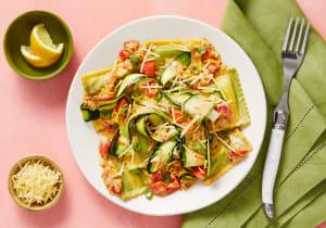 Garden Spinach Ricotta Ravioli image