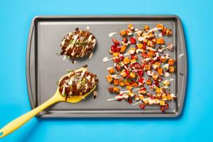 Sheet Pan Sweet Soy Meatloaves image