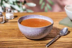 Soupe à la crème de tomate image