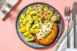 Veganes Schnitzel mit Pfeffersoße image