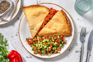 Empanada's met vegetarische runderstukjes image