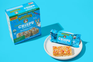 Annie's Organic Crispy Birthday Cake Snack Bars image