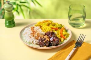 Boulettes à l'indonésienne et sayur lodeh image