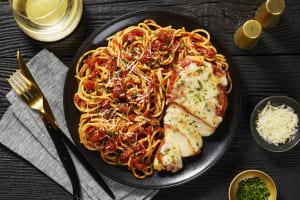 Cheesy Prosciutto-Wrapped Chicken image