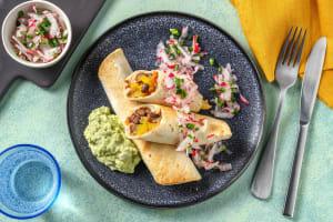 Enchiladas Verdes mit Avocadocrème image