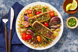 Za'atar-Crusted Grilling Cheese image