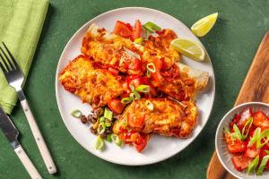 Enchiladas mit rauchiger Tomatensoße image