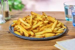 Rustieke frites met schil image