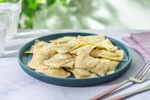 Ravioli spinazie en ricotta image