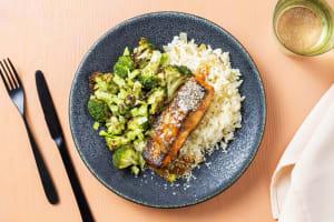 Bowl de saumon glacé au miso image
