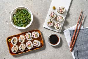Déjeuner sushi image