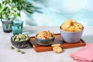 Trio de snacks salés image