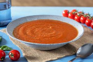 Tomaten-Basilikum-Suppe image