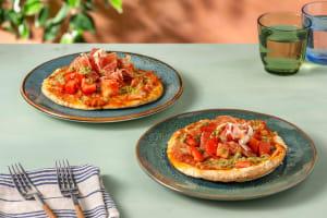Pizzetta Prosciutto mit frischer Tomate image