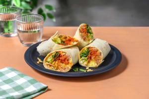 Spicy Tuna-Wrap mit Käse image