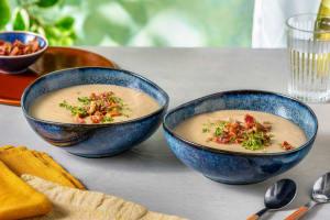 Maronen-Kartoffel-Suppe mit Bacon image
