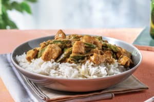 Green Thai Chicken Curry with Jasmine Rice image