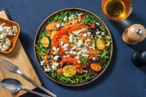 Couscous-Salat mit Pfirsich-Ajvar-Dressing image