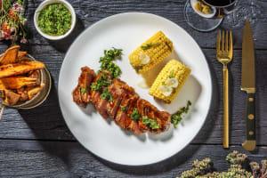 All-American BBQ Glazed Sirloin Steak image