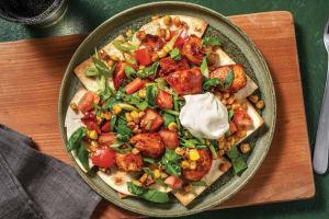 Quick American BBQ Chicken & Tortilla Chips image