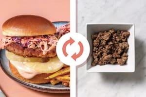 Quick American Beef Burger image