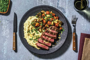 Southern Beef Rump & Mustard Sauce image
