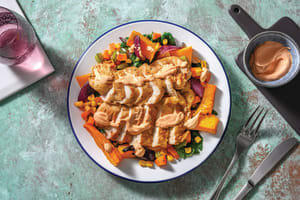 Smokey Chicken & Roasted Veggies with Chipotle Yoghurt image