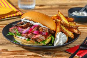 Angus Striploin Burger image