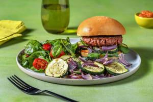 Antipasto Veggie Burger image