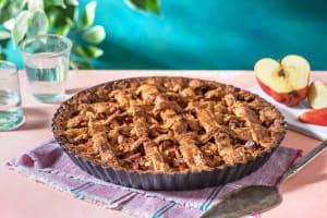Gâteau aux pommes et au spéculos à l'épeautre image