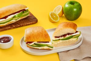 Apple Brie Sandwiches image