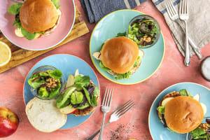 Apple Sage Turkey Burgers image