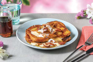 Apple-Spiced Brioche French Toast image