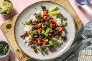 Hoisin Beef & Garlic Rice Bowl image