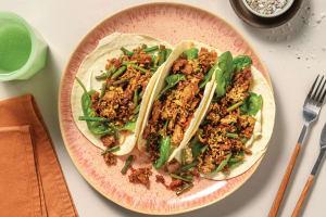 Asian Caramelised Pork Tacos image