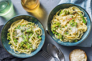 Asparagus and Lemon Linguine image