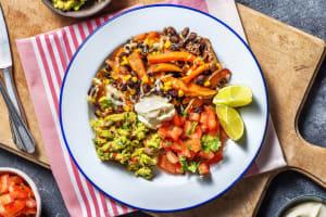 Vegetarische kapsalon met Mexicaanse twist image