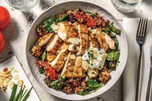 Aussie Chicken Quinoa Bowl with Chive Yoghurt image
