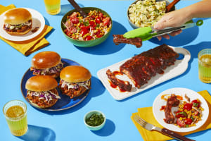 Baby Back Ribs & BBQ Chicken Sandwiches image