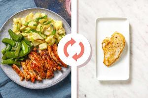 Backyard BBQ Style Chicken Breast Dinner image