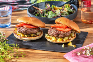 Bacon and Cheese Stuffed Burgers image