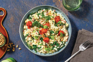 Bacon & Cherry Tomato Risotto image