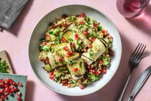 Badrijani : roulés d'aubergine à la noix image