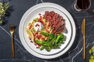 Baharat Spiced Lamb Steaks image