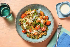 Baharat Roasted Chantenay Carrot and Sweet Potato Salad image